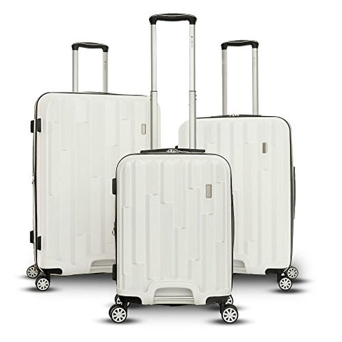 Gabbiano Luggage The Avila Collection 3 Piece Hardside Spinner Set