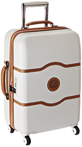 Delsey Luggage Chatelet 21 Inch Carry-On Spinner, Champagne, One Size