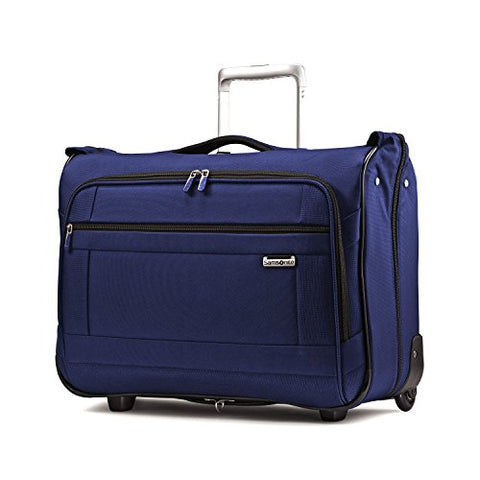 Samsonite Solyte Softside Carry-On Wheeled Garment Bag, Black (True Blue)
