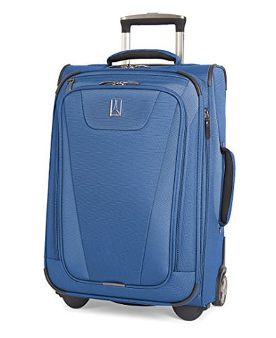"Travelpro Maxlite 4 22"" Expandable Rollaboard Suitcase, Blue"
