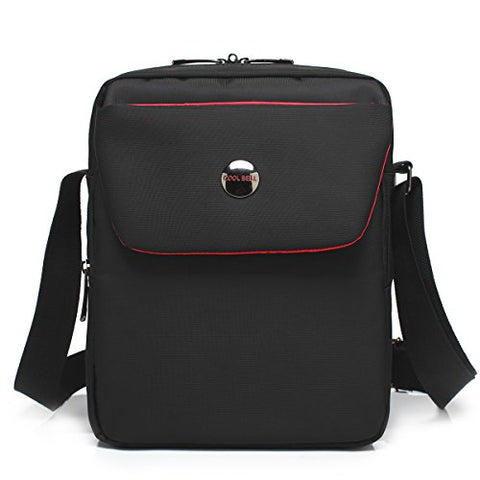 Coolbell 10.6 Inches Shoulder Bag Fabric Messenger Bag Ipad Carrying Case Hand Bag Tablet Briefcase
