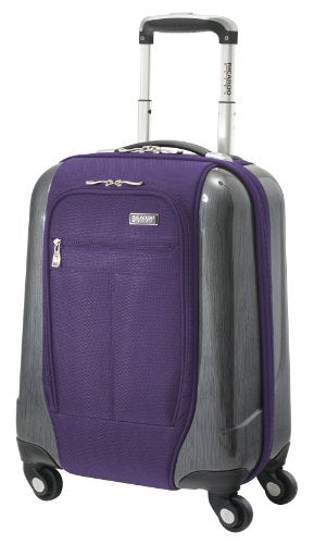 Ricardo Beverly Hills Luggage Crystal City 17 Inch Spinner Universal Carry-On Bag, Imperial Purple,