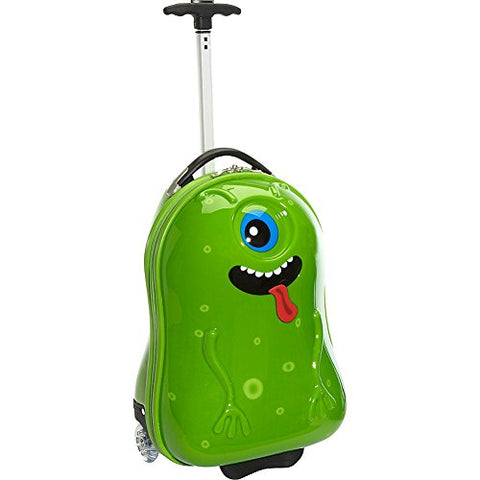 TrendyKid Alien Kids' Rolling Carry On (Alien)
