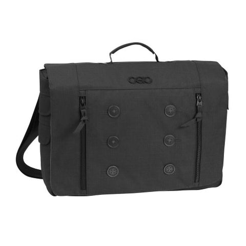 Ogio Midtown Women'S Laptop/Tablet Messenger Bag (Black, One Size)