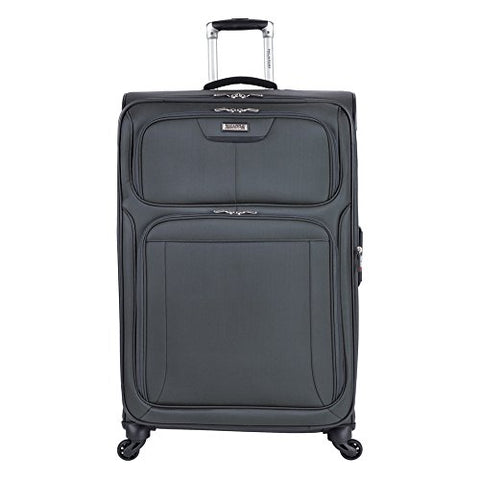 "Ricardo Beverly Hills Saratoga Spinner Upright Suitcase 29"", Graphite"