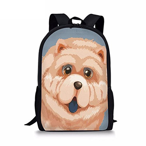 Freewander 3D Custom Design Lightweight School Backpack Bag Book Bag for Boys Girls
