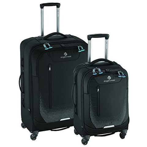Eagle Creek Expanse AWD Luggage Set (22 Inch Carry-On + 30 Inch Checked), Black