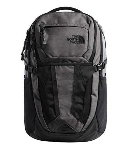 "The North Face Recon Laptop Backpack- 17"" (TNF Dark Grey Heather/TNF Medium Grey"