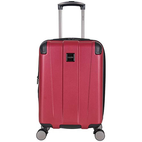 Reaction Kenneth Cole Continuum Red Carry On Spinner Suitcase - 20 Inch