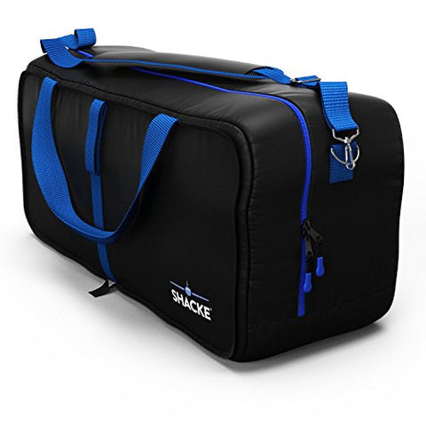 Shacke Duffel XL - Large Travel Duffel Bag - Foldable w/Memory Foam Shoulder Pad