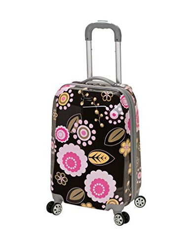 Rockland Luggage 20 Inch Polycarbonate Carry On Luggage, Pucci, One Size