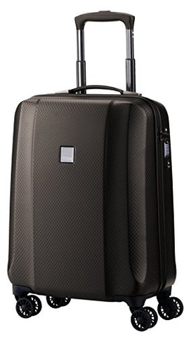 "Titan Xenon Deluxe 100% Polycarbonate International Carry On 21"" Luxury Spinner (Brown)"