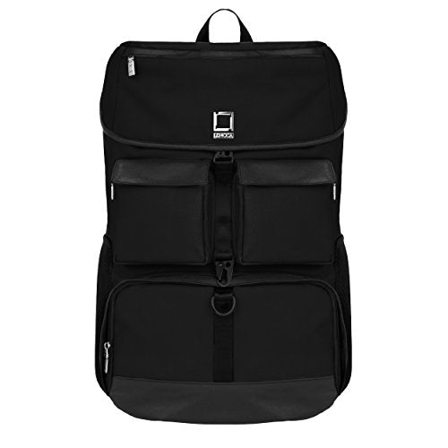 Lencca Logan Backpack For Hp 17.3 Inch Laptops (Classic Black)