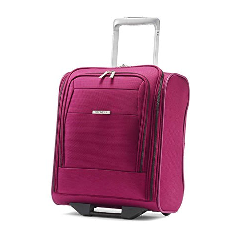 Samsonite Eco-Nu Wheeled Underseater Carry-On Raspberry