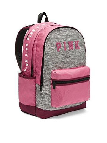 Victoria'S Secret Pink Campus Backpack Pink With Marl