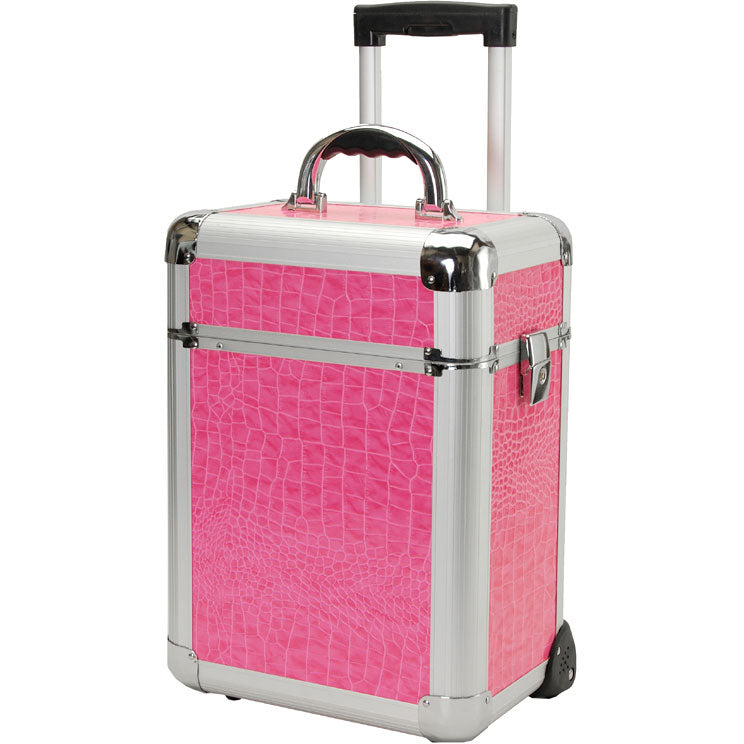 T.Z. Case Beauty Cases Mini-Pro 12in Slide Tray Wheeled Case