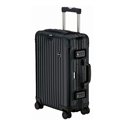 RIMOWA Lufthansa Alu Premium Collection suitcase 36L Cabin Trolley, Black