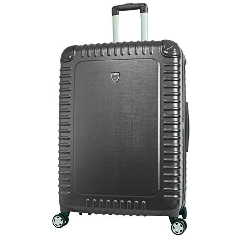 "Gabbiano The Armor Collection Hardside Spinner Luggage Single Piece (21"", Dark Grey)"