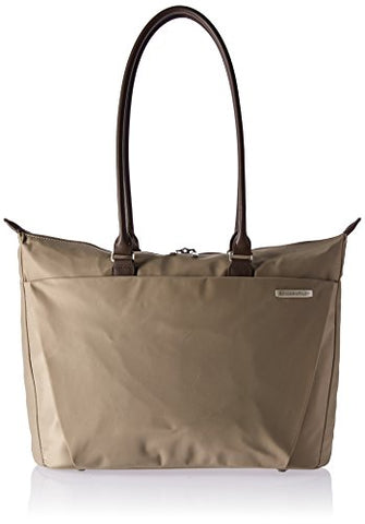 Briggs & Riley Sympatico Shopping Travel Tote, Caramel, One Size