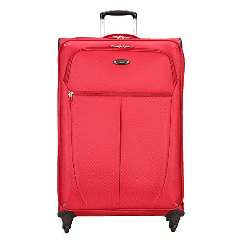 Skyway Mirage Superlight 28-Inch 4 Wheel Expandable Upright, Formula 1 Red, One Size