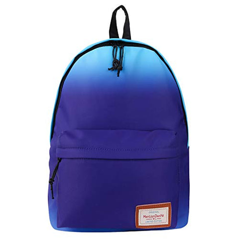 Violet Mist College Backpack Bag Waterproof Laptop