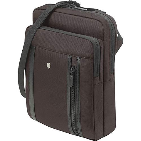 Victorinox Werks Professional 2.0 Crossbody Laptop Bag (Dark Earth)