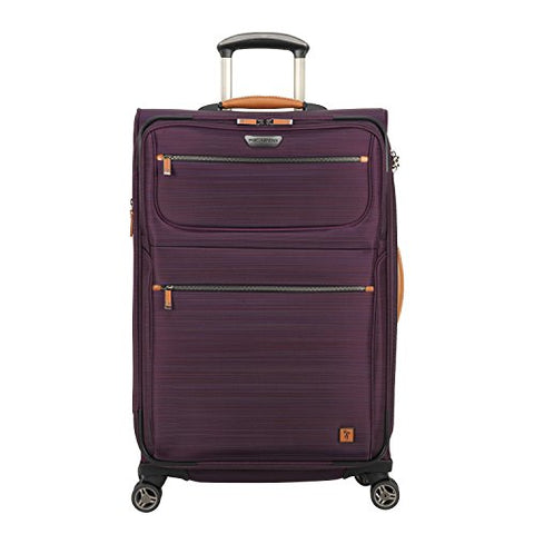 Ricardo Beverly Hills San Marcos 25-Inch 4-Wheel Upright Luggage, Violet Purple
