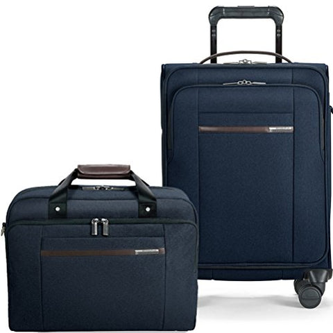 Briggs & Riley Kinzie Street Carry On Set International Spinner | Cabin Bag (Navy)