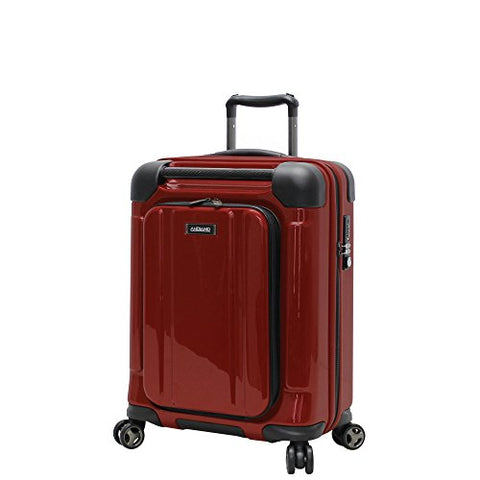 "Andiamo Pantera 20"" Hardside Carry-On Luggage With Spinner Wheels (20In, Lava Red)"