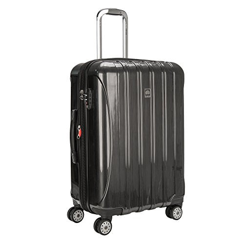"Delsey Paris Helium Aero 25"" Exp. Spinner Trolley, Brushed Charcoal"