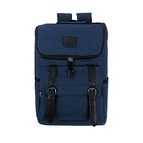 ABage Unisex Laptop Backpack Water Resistant Oxford Travel Daypack School Backpack, Royal Blue