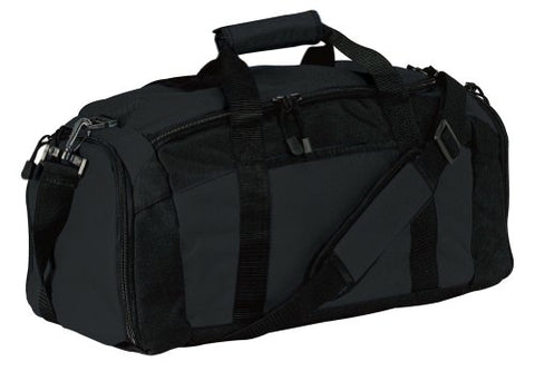 Port & Company Gym Bag, Black