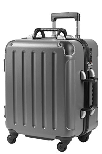 "VinGardeValise Petite | Wine Travel Suitcase | All-purpose Luggage | TSA & FAA Compliant | ( Small Size 22.5"") 8 Bottles (Grey)"