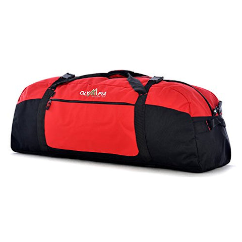 Olympia Luggage  42 Inch Sports Duffel,Red,One Size