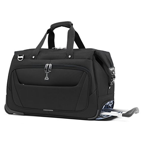 Travelpro Maxlite 5 Carry Rolling Duffel, Black, One Size