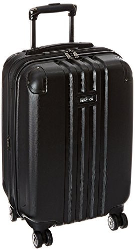 Kenneth Cole Reaction 20 Inch Abs Expandable 8-Wheel Upright Carry-On Reverb, Black, One Size