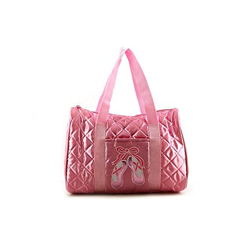 Dansbagz By Danshuz Quilted On Pointe Bag O/S Pink
