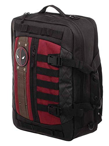 Marvel Deadpool Convertible Messenger Bag Laptop Backpack