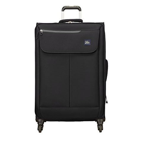 Skyway Mirage 2.0 28-Inch 4-Wheel Spinner Luggage, Black
