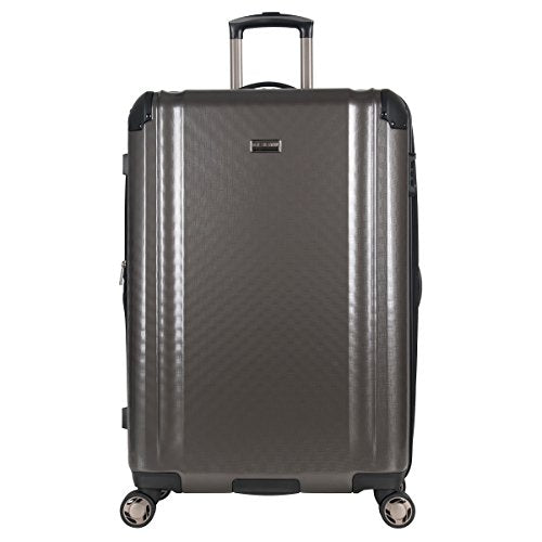 "Ben Sherman 28"" Pap Expandable 8-Wheel Luggage Upright, Charcoal"