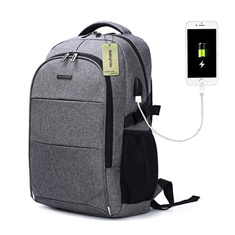Laptop Backpack with USB Charging Port Travel Computer Bag for Women and Men Anti Theft Water