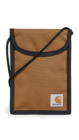Carhartt WIP Men's Collins Neck Pouch, Hamilton Brown, One Size