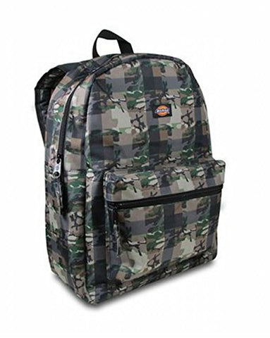 Dickies Student Backpack, Fat Plaid Camo, One Size