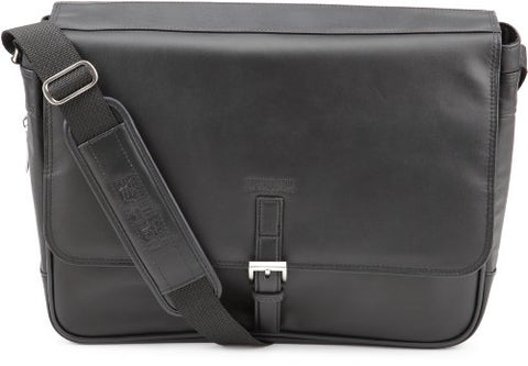 Kenneth Cole  524985 Expandable Computer Compatible Messenger Bag,Black,One Size