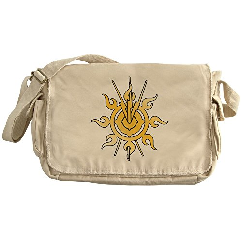 CafePress - Acheron Symbol (TM) - Unique Messenger Bag, Canvas Courier Bag