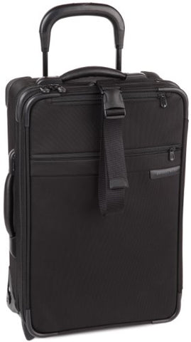 Briggs & Riley 21 Inch Carry-On Expandable Upright,Black,21.5X14X8