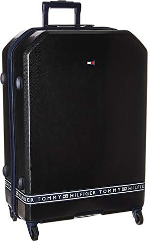 "Tommy Hilfiger Unisex 28"" Sneaker Sport Upright Suitcase Black One Size"