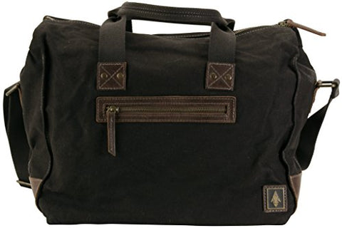 "Damndog Under Gear Box Canvas 15"" Duffle Bag - Tar Black"