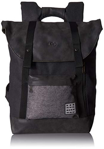 Solo Urban Code 15.6 Inch Laptop Backpack, Black/Grey