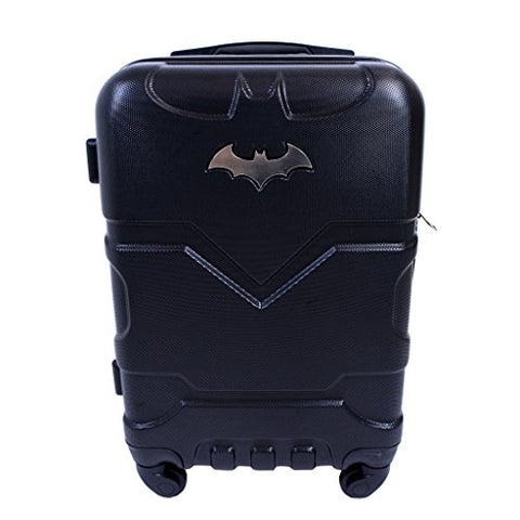 Batman 21in Hardsided Carry-On Luggage Spinner, Black